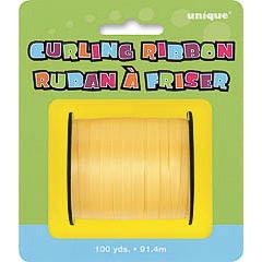Rollo de cinta amarilla