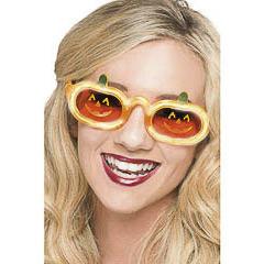 Gafas calabaza con luz Halloween