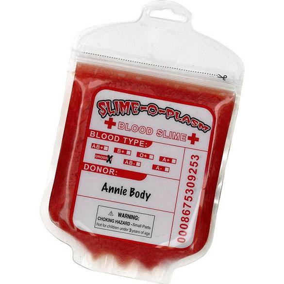 Bolsa de sangre imitación