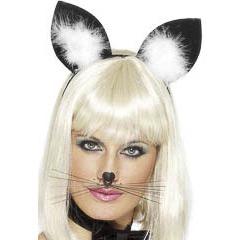 Diadema orejas de gato talla única