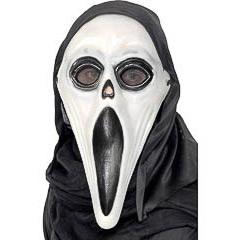 Máscara tipo scraem plástico