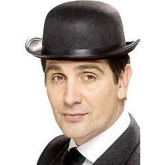 Sombrero bombín adulto talla única