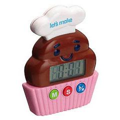 Temporizador digital de cocina cupcake
