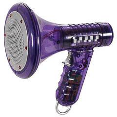 Megáfono distorcionador de voz