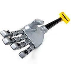 Mano robótica de plástico