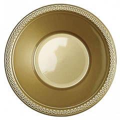 Bowls dorados 350 ml, Pack 10 u.