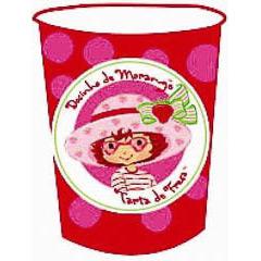 Vasos Tarta de Fresa 266 ml, Pack 10 u.