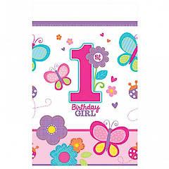 Mantel 1º cumpleaños 259 x 137 cm papel, Pack 1 u.