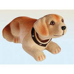 Perro movimiento cabeza Labrador