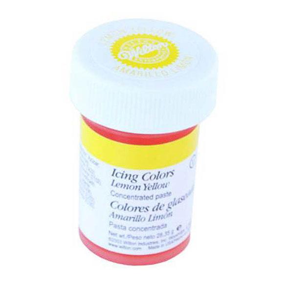 Colorante gel alimenticio amarillo Wilton