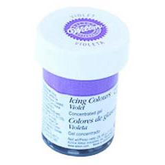 Colorante gel alimenticio violeta Wilton