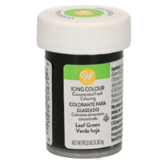 Colorante gel alimenticio verde hoja Wilton