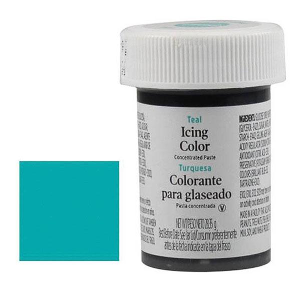 Colorante gel alimenticio turquesa Wilton