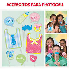 Baby Shower, Accesorios Photocall