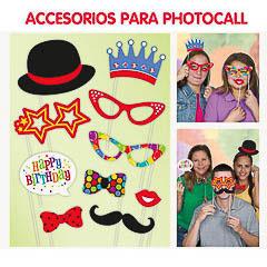 Accesorios Photocall Cumpleaños