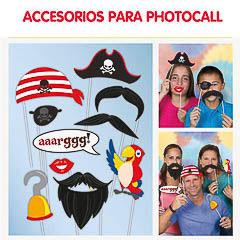 Piratas, Accesorios Photocall