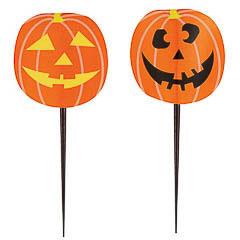 Pinchos decorativos Halloween, Pack 8 u.