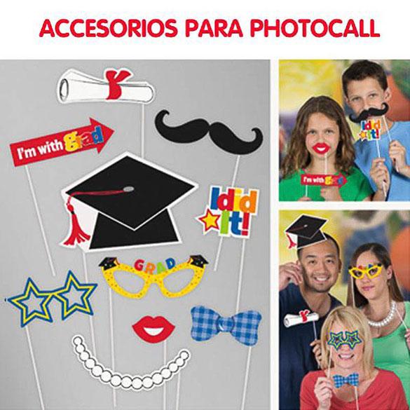 Accesorios Photocall Graduación