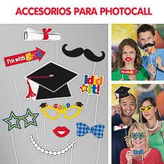 Graduación, Accesorios Photocall