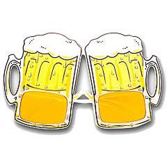 Gafas modelo jarras de cerveza