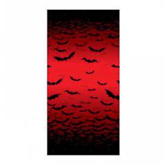 Decoración tapiz Halloween murciélagos