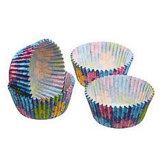 Pack de 60 cápsulas cupcakes modelo flores