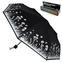 Paraguas mágico que cambia de color al contacto con la lluvia - Ítem