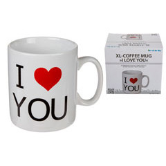 Taza I Love You XL