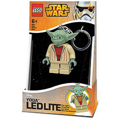 Llavero Star Wars - Yoda luz Led