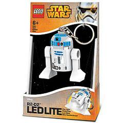 LLavero Lego R2-D2 luz Led