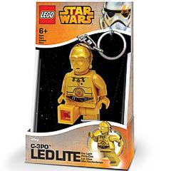 LLavero Lego SW C3PO luz Led
