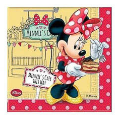 Pack 20 servilletas Minnie Mouse 33 x 33 cm