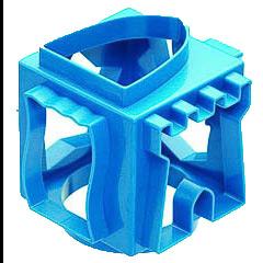 Cortapastas cubo azul 6 caras