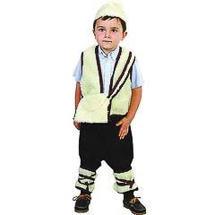 traje pastor infantil
