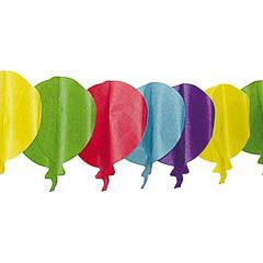 Guirnalda globos de papel