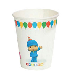 Vasos Pocoyo 240 ml, Pack 8 u.
