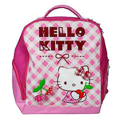 Mochila Hello Kitty modelo cerezas