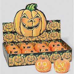 Calabaza decorativa con luz Halloween