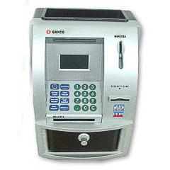 Hucha cajero automático banco