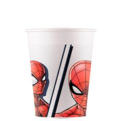 Vasos Spiderman, Pack 8 u
