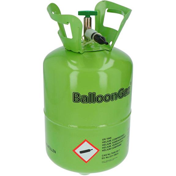 Bombona gas helio para 30 globos