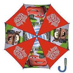 Paraguas infantil Cars tela roja