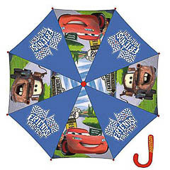 Paraguas infantil Cars tela azul