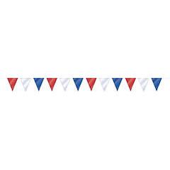 Guirnalda banderines colores de plástico