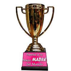 Copa trofeo mejor madre