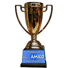 Copa trofeo mejor amigo