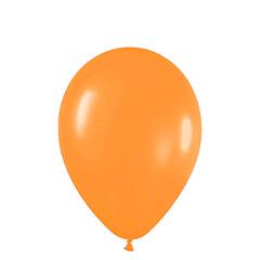 Globos de Látex Naranja. Pack 10 unidades