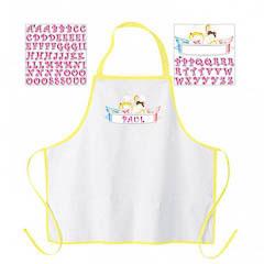 Delantal de cocina infantil para personalizar