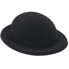Sombrero flocado bombín infantil