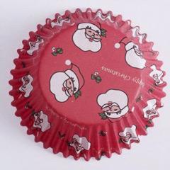 Pack 60 cápsulas cupcakes Papá Noel PME
